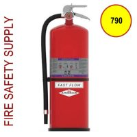 Amerex 790 High Performance ABC Fire Extinguisher 13.2LB 4A:40B:C Model 790