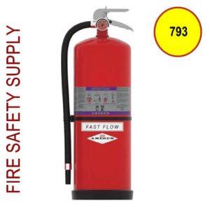 Amerex 793 High Performance Purple K Fire Extinguisher 13.2LB 40B;C Model 793