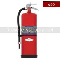 Amerex 680 Model Class D Sodium Choride Wheeled Fire Extinguisher, 150 lb