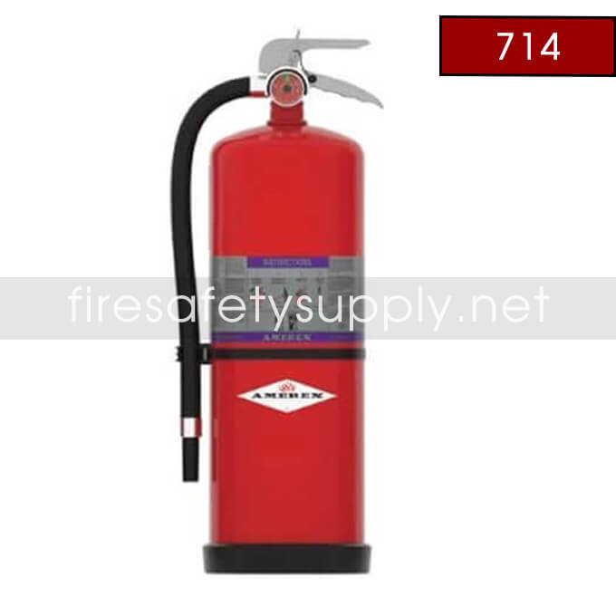 Amerex 714 High Performance ABC Fire Extinguisher 20LB