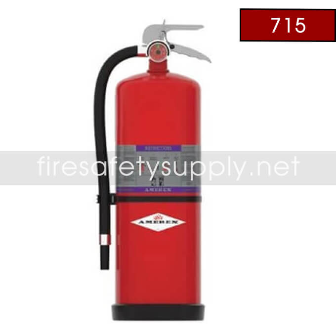 Amerex 715 High Performance ABC Fire Extinguisher 30LB