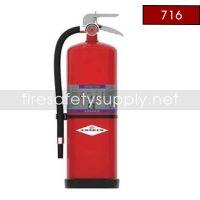 Amerex 716 High Performance Purple K Fire Extinguisher 13.2LB 80 BC