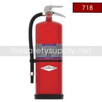 Amerex 718 High Performance Purple K Fire Extinguisher 30LB 160 BC Model 718