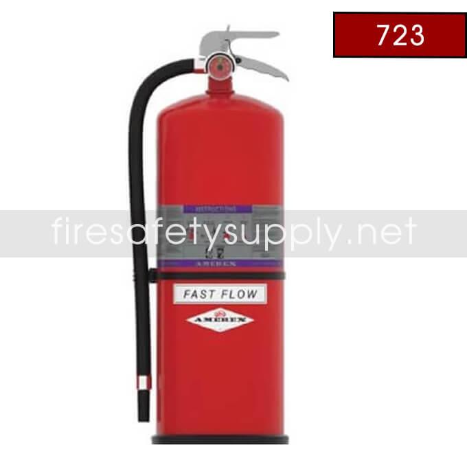Amerex 723 High Performance Regular Dry Chemical Fire Extinguisher 20LB