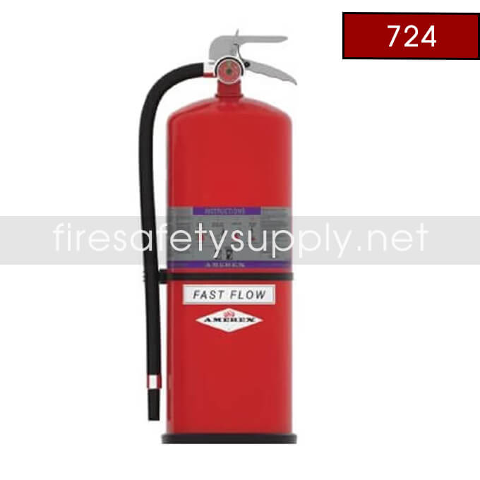 Amerex 724 High Performance ABC Fire Extinguisher 30LB