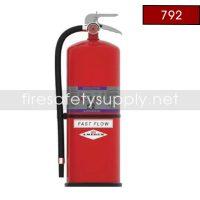 Amerex 792 High Performance ABC Fire Extinguisher 30LB