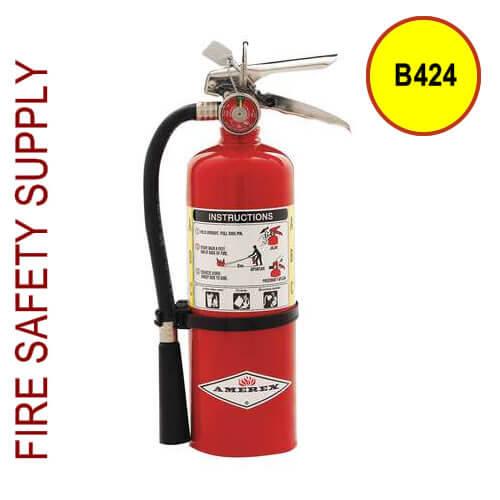 Amerex B424 2A:10B:C , Dry Chemical , 5 lb.