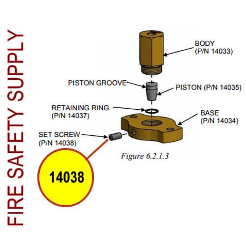 Amerex 14038 Screw Set 1/4-20 X 1/2 SA