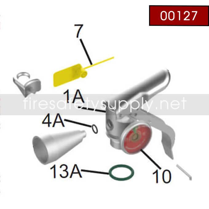 Amerex 00127 Valve Assembly Wp 2.5 Br