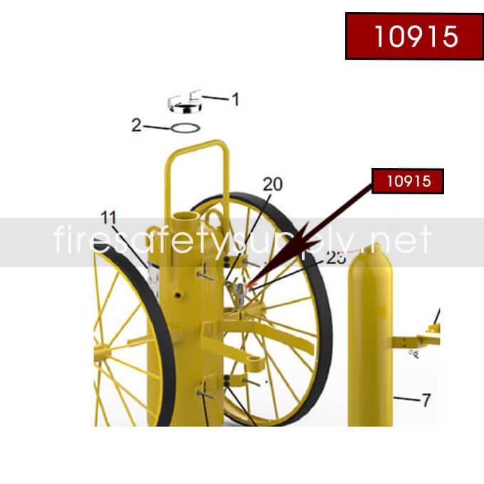 Amerex 10915 Argon Pressure Regulator