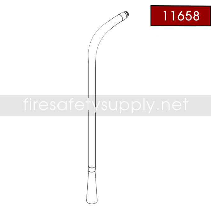 Amerex 11658 Hose Assembly Al 1/2″x.221 20
