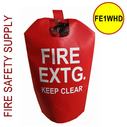 FE1WHD Small HD Water Proof Fire Extinguisher Cover (with window)