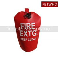 FE1WHD Small HD Water Proof Fire Extinguisher Cover