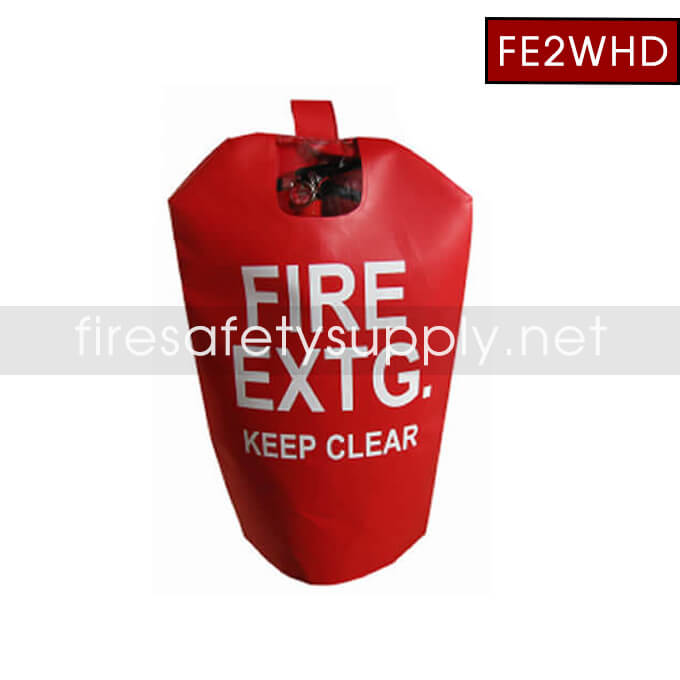 FE2WHD Medium HD Water Proof Fire Extinguisher Cover