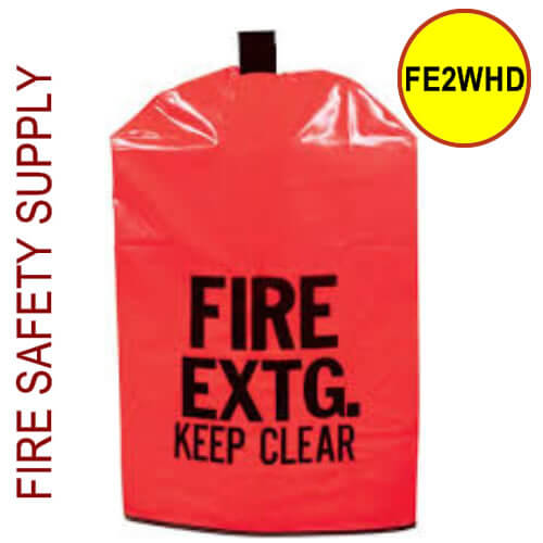 FE2WHD Medium HD Water Proof Fire Extinguisher Cover (with window)