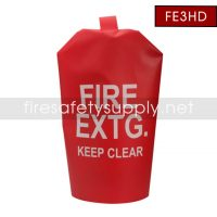 FE3HD Large Heavy Duty Water Proof Fire Extinguisher Cover