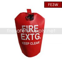 FE3W Large Water Proof Fire Extinguisher Cover