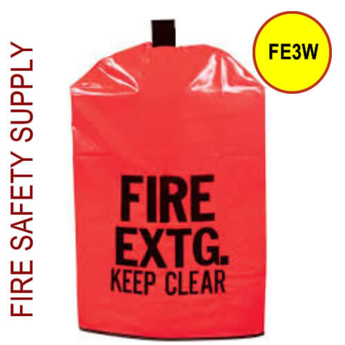 FE3W Large Water Proof Fire Extinguisher Cover (with window)