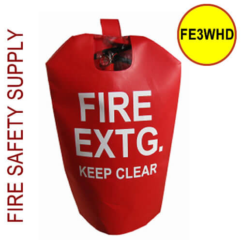FE3WHD Large HD Water Proof Fire Extinguisher Cover (with window)