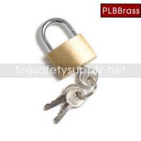 PLB Brass Pad lock