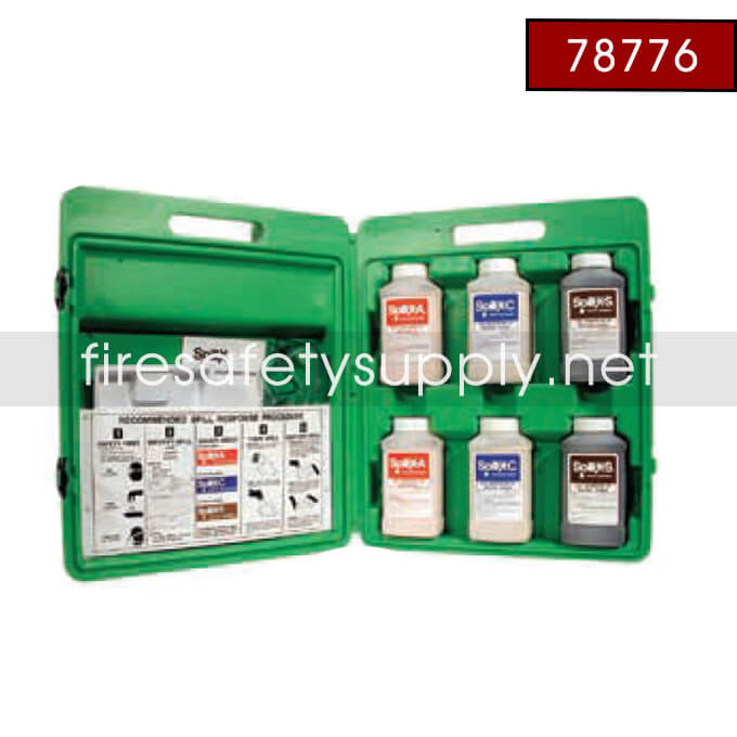 78776 Spill Treatment Kit, Chemical, Spill-X-A only